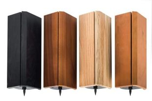 Solid Tech Hybrid Wood Corner pillars with built-in isolation for 10-90kg