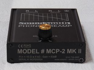 Soundsmith MCP2 Phono Preamp MKII