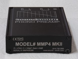 Soundsmith MMP4 Phono Preamp MKII